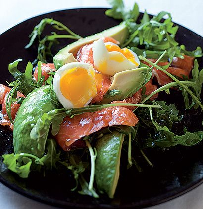 Adam White Salmon, Eggs & Avocado Breakfast