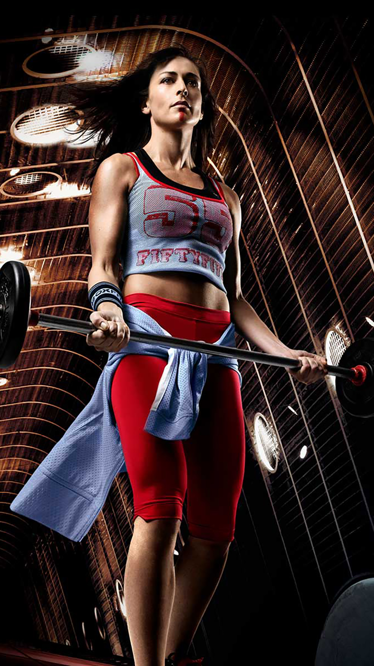 body training methods, a picture of a woman training