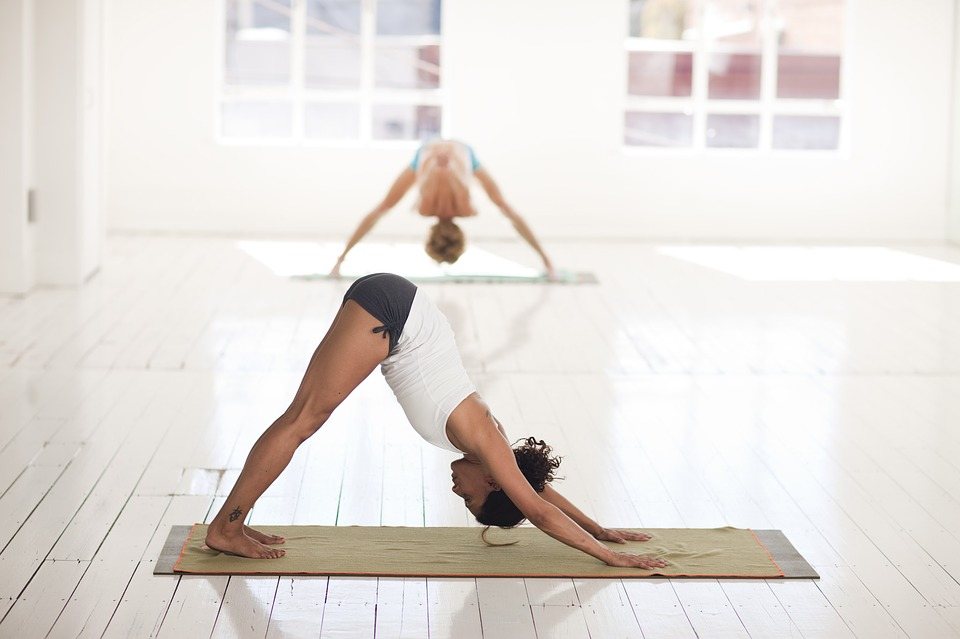 why do balance exercises, a picture of a woman doing a balance yoga pose