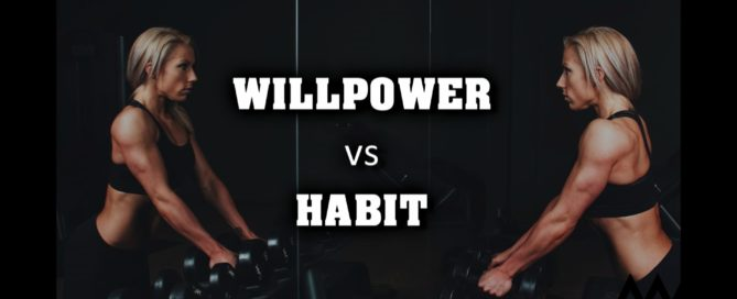 Willpower vs habit
